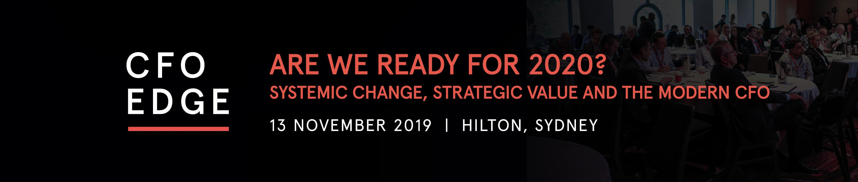 Adapt - CFO Edge Sydney – Agenda